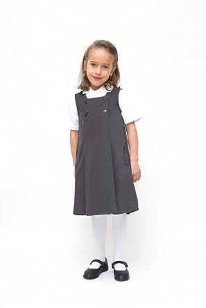 dfefe0346 100% Organic Cotton Pinafore (6-7)  Amazon.co.uk  Clothing