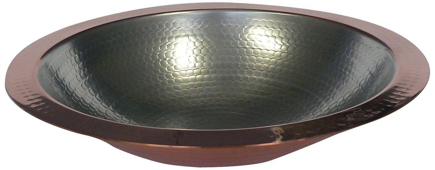 丸新銅器 銅製 うどんすき鍋 33cm   B00H4PULJO