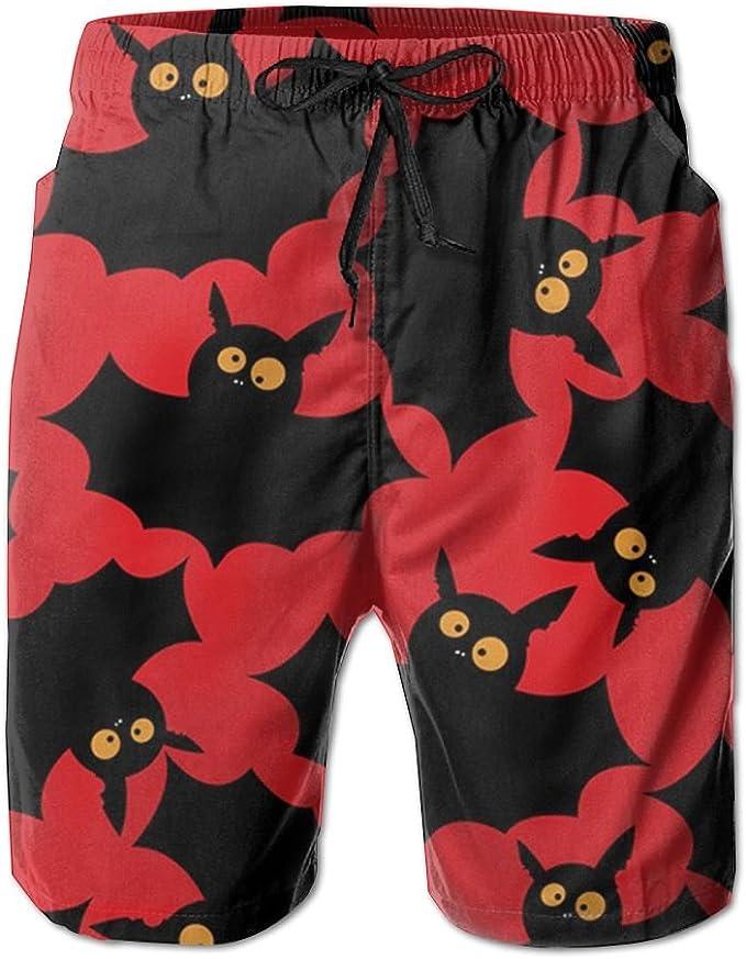 New Red White and Blue Striped Fabrics Mens Beach Pants,Shorts Beach Shorts Swim Trunks