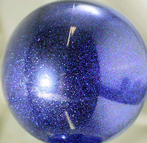 (Vintage Paint Sapphire Blue Metal Flake Glitter .008 0.008 Hex (8 Ounce))