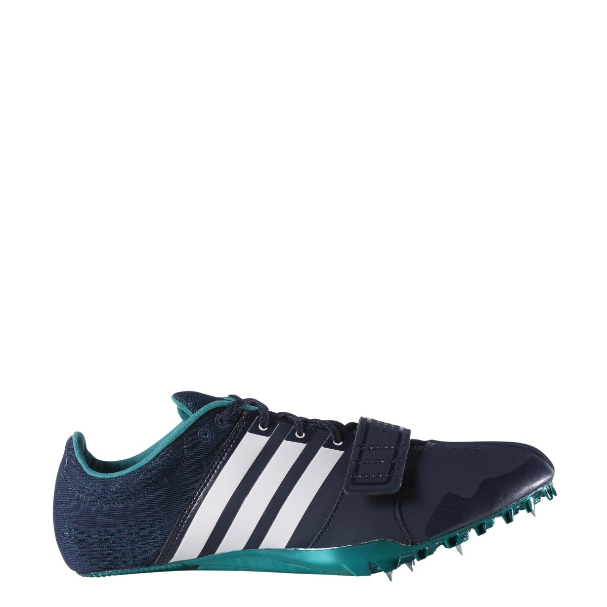 adidas Adizero Accelerator Running Shoe, Collegiate Navy/White/Green, 11.5 M US