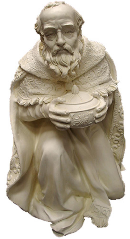 16.5'' Kneeling Wise Man With Gift Indoor/Outdoor Nativity Statue #21754 by Roman