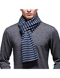 PENAGY Men Winter Super Woollen Scarves Stylish Soft Luxurious Scarf Shawl-19 Colors