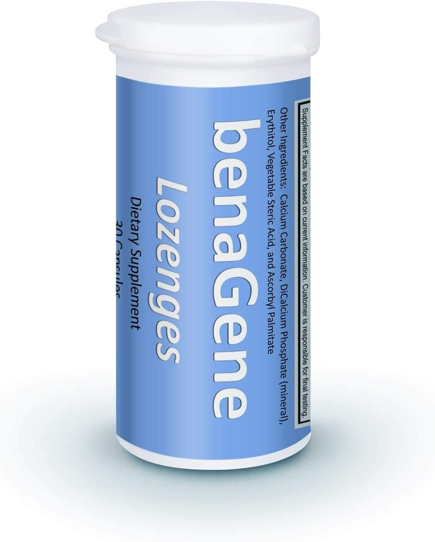 benaGene Lozenges - Quick Absorbing Thermally Stabilized Oxaloacetate