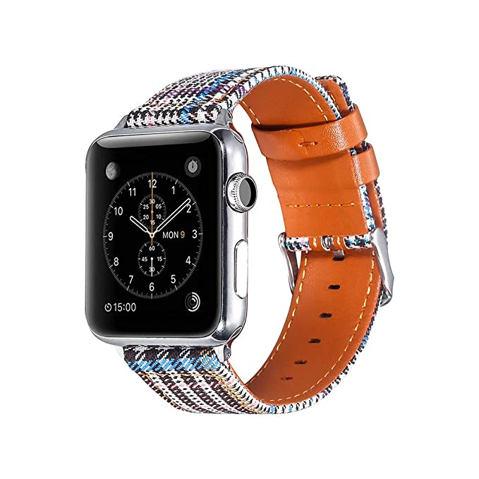 Brazalete Relojes para Celosía Pulsera Lienzo Wristbands de Manera Strap Suave Bandas de Reemplazo Cadena Versión Juvenil Wristbands: Amazon.es: Relojes