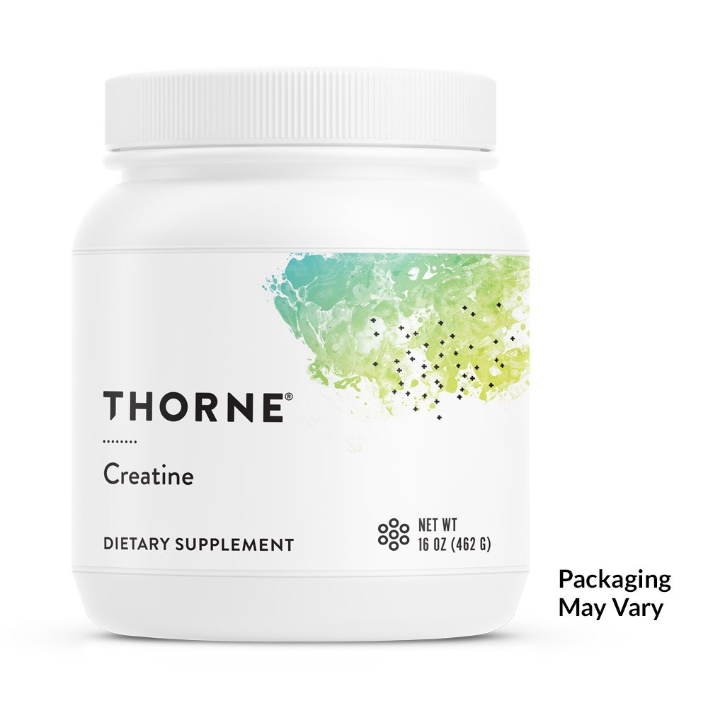 Thorne Research - Creatine - Creatine Powder to Support Energy Production, Lean Body Mass, Muscle Endurance, and Power Output - NSF Certified for Sport - 16 oz