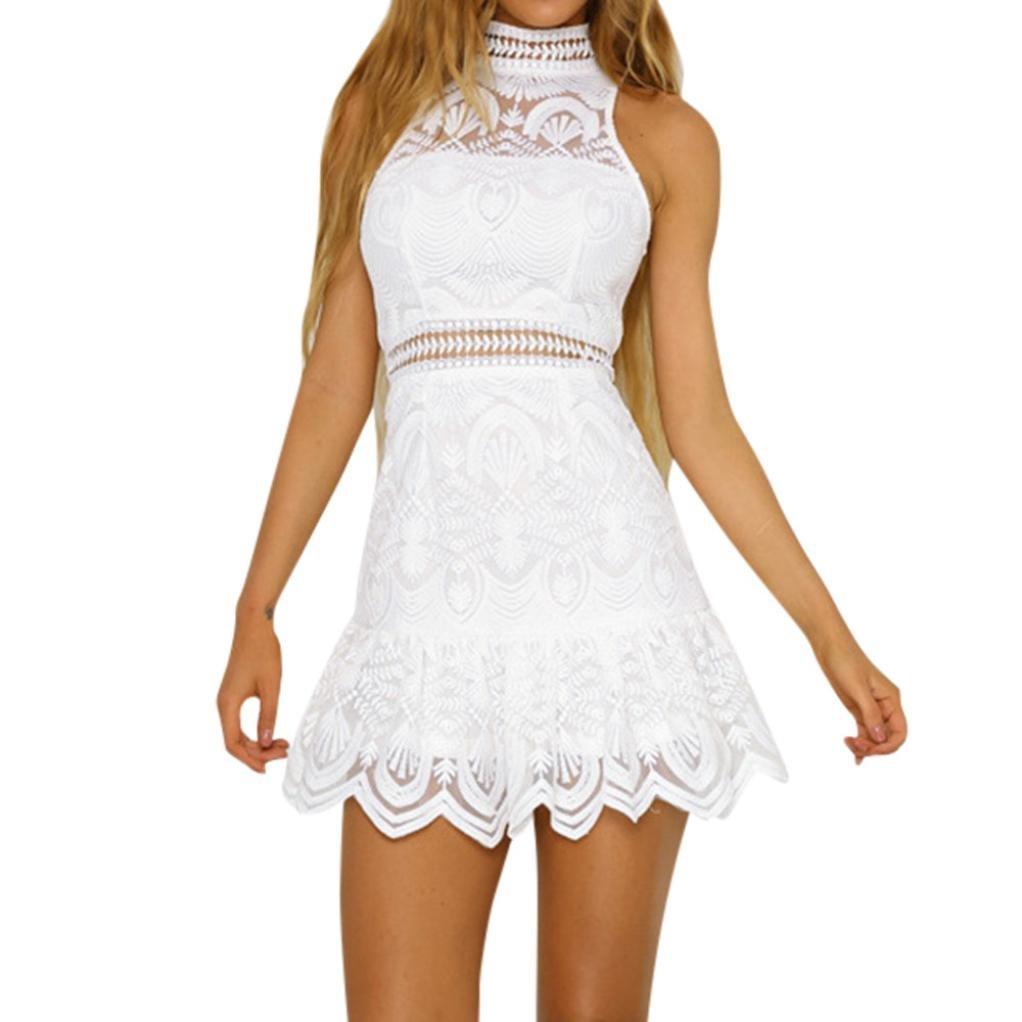 ★お求めやすく価格改定★ Elogoog Women Dress SWIMWEAR ホワイト SWIMWEAR Dress レディース Large ホワイト B07CYPJR68, インテリアショップドリームランド:eb3d64e4 --- movellplanejado.com.br