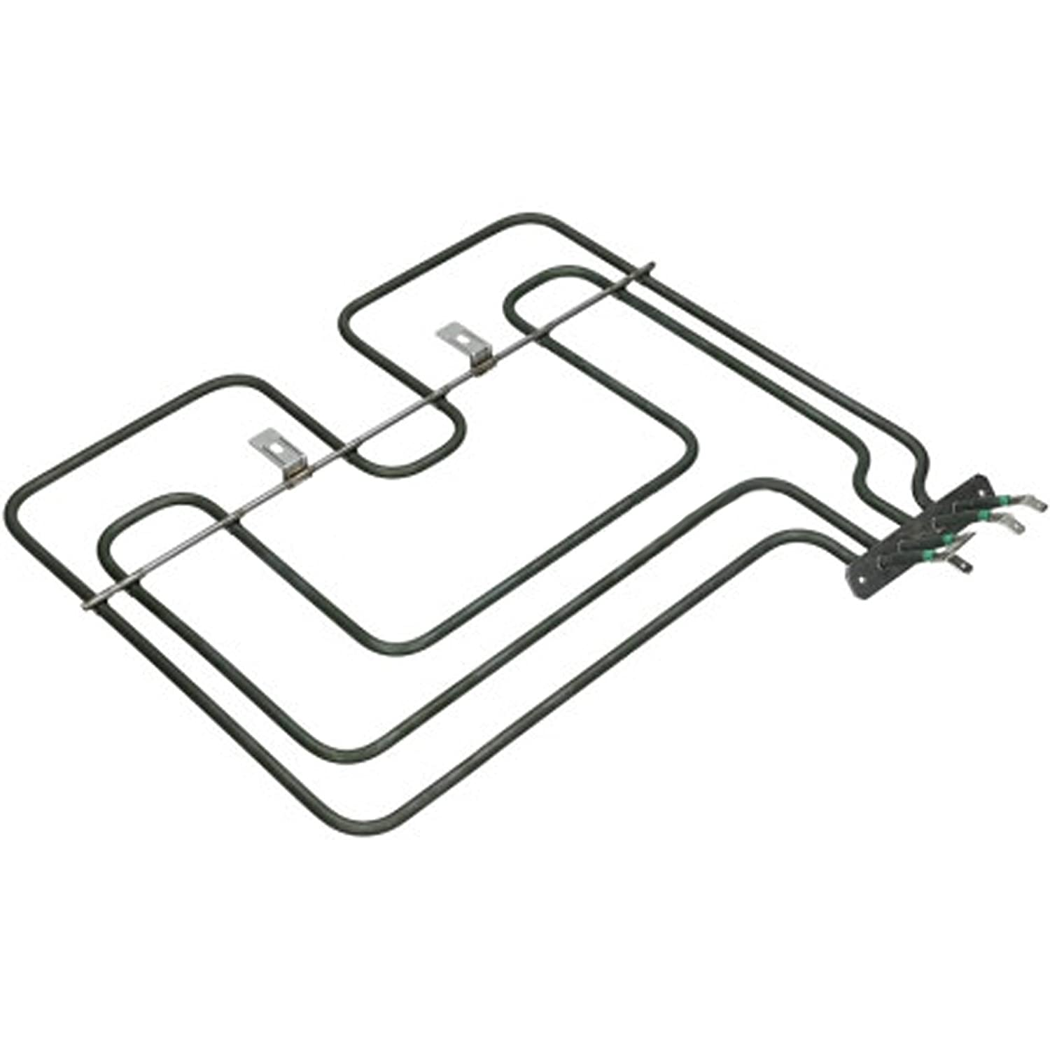 SPARES2GO Top Upper Dual Heating Heater Element for Logik Oven Cooker Grill 2200W