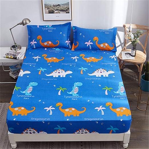 ZHOUJINGTIAN - Funda de colchón de algodón Estampada, G15, 150X200 ...
