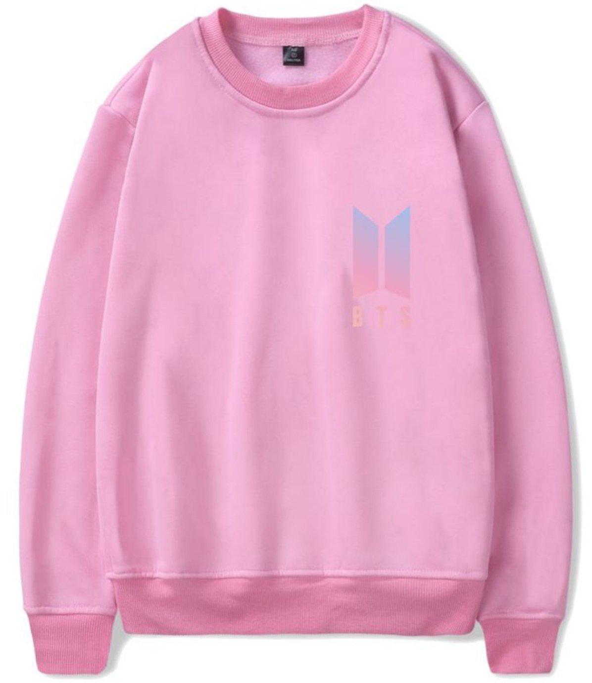 SERAPHY Unisex BTS Hoodies Bangtan Boys Sweatshirts Crew Neck Jumper Suga Jin Jimin Jung Kook J-Hope Rap-Monster V Pink-92 M