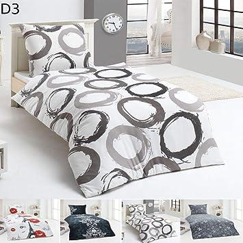 Malika Warme Winter Microfaser Flausch Fleece Bettwäsche 135x200 155x220 200x200 Design Motivdesign 3 Größe135 X 200 Cm