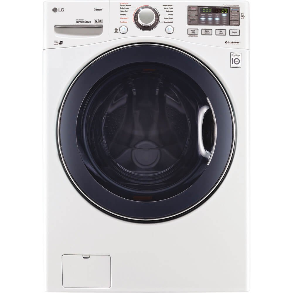 LG WM3770HWA 27'' Front Load Washer with 4.5 cu. ft. Capacity, in White