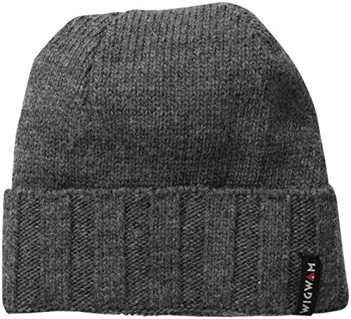 Wigwam Men's Watchman Cap, Charcoal, One Size