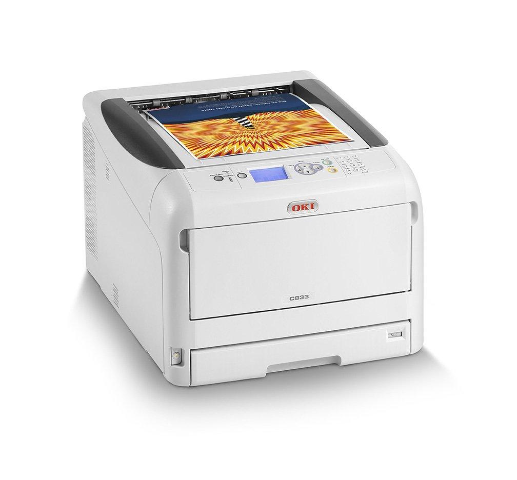 OKI C833dn Color 600 x 1200DPI A3 - Impresora láser (LED, Color, 600 x 1200 DPI, A3, 300 hojas, 35 ppm)