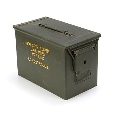 Originale gebrauchte Boîte à munitions Taille 3le récipient U.S. Army pour cartouches 800Boîte métallique Mun/Boîte Boîte en métal