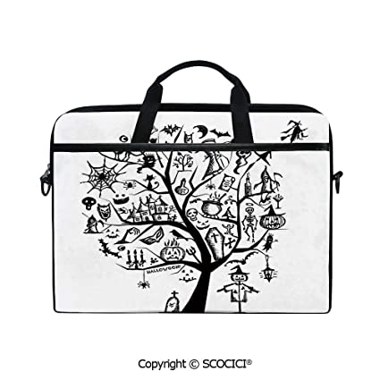 fc0d9b3559de Amazon.com: Printed Laptop Bags Notebook Bag Covers Cases Sketchy ...