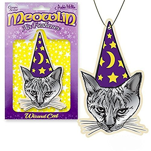 Archie Meowlin Grape Scented Air Freshener