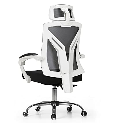 Amazon.com : Hbada Ergonomic Office Chair   Modern High Back Desk Chair    Reclining Computer Chair With Lumbar Support   Adjustable Seat Cushion U0026  Headrest  ...