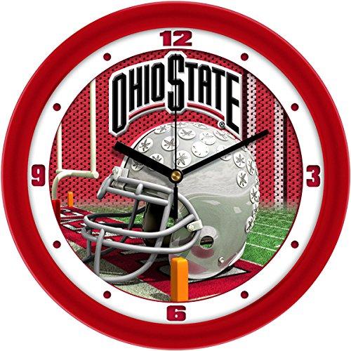 Ohio Crystal State - SunTime NCAA Ohio State Buckeyes Helmet Wall Clock