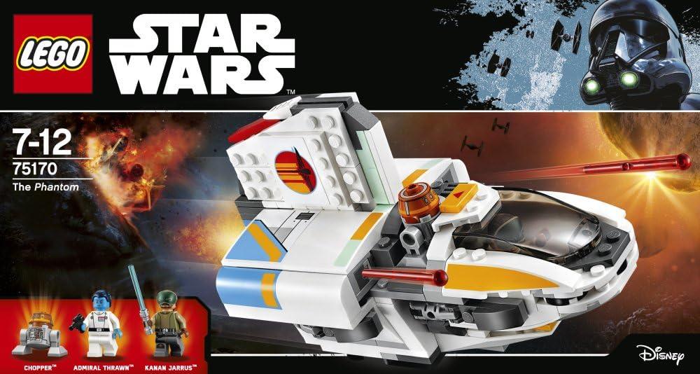 BOITE SET DE LEGO STAR WARS VAISSEAU 75170 NEUF THE PHANTOM LE FANTOME THRAWN