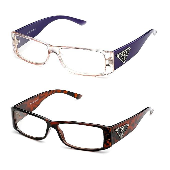 c3209e99884e Newbee Fashion- Casual Nerd Thick Clear Frames Fashion Glasses for Women