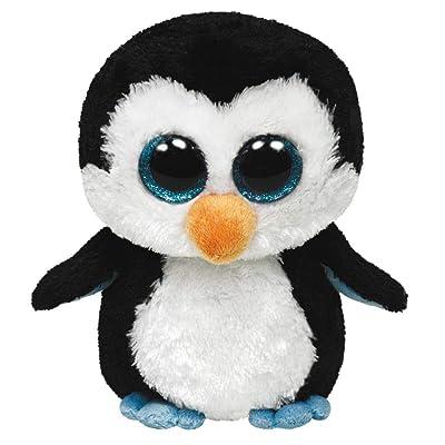 "Ty Beanie Boos Waddles Penguin 16\"" Plush, Large: Toys & Games [5Bkhe0400135]"