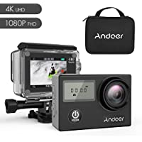 Andoer AN4000 4K WiFi Action Camera with WP Hard Case