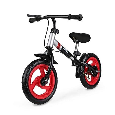 Fascol Bicicleta sin Pedales 2 Bicicleta de Ruedas para 18 Meses a 5 años niños Bicicleta