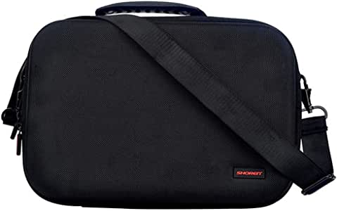 Soyan Travel and Storage Case for Oculus Quest 2 or Quest (Black)