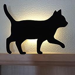 Amazon 東洋ケース Led照明 壁掛け 照明 キャットウォールライト Cat Wall Light ねこ ちょっかい Tl Cwl 01 インテリア オンライン通販
