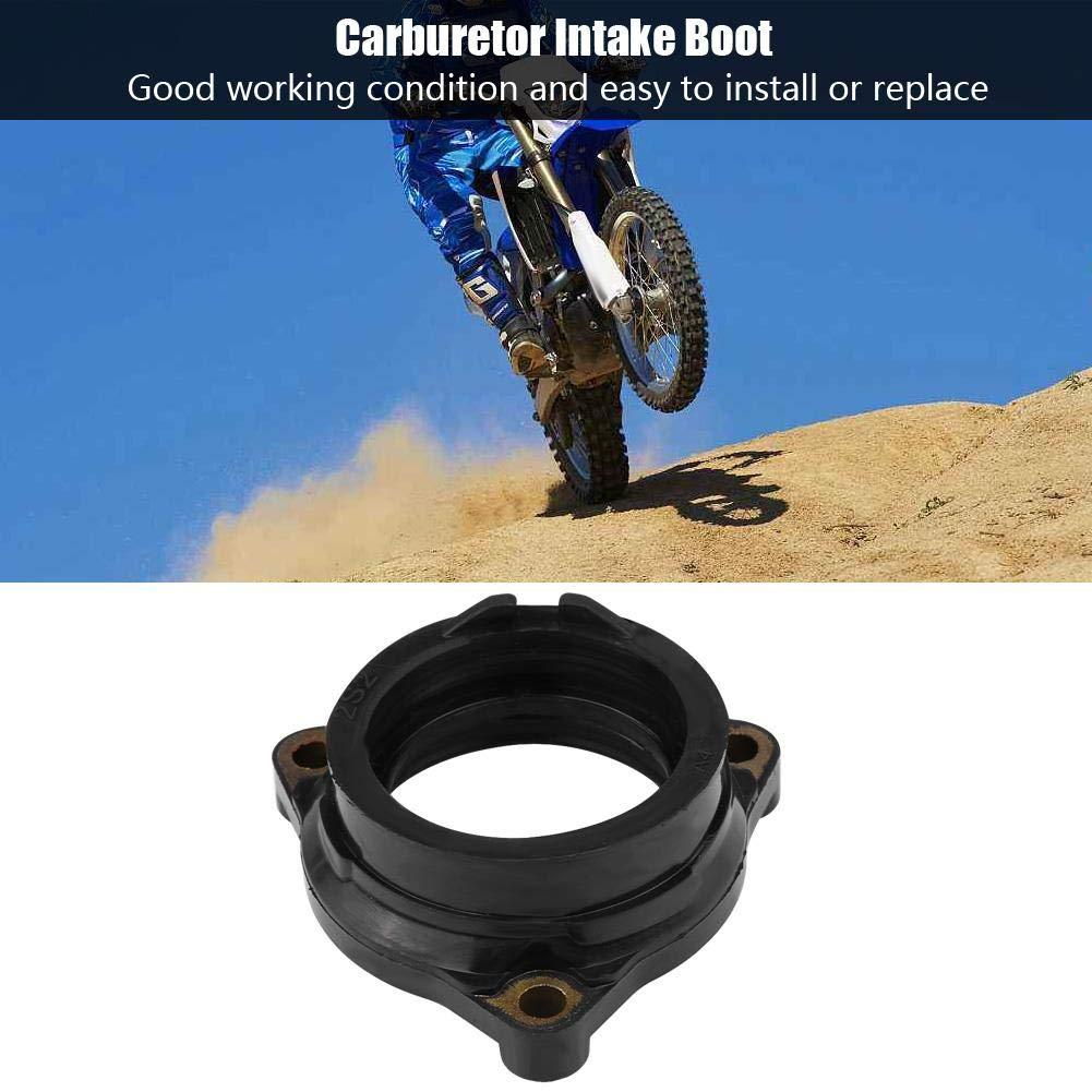 Senyar Motorcycle Carb Carburetor Intake Manifold Adapter Boot Replacement for YAMAHA WR450F YZ450F YZ450FSP 50th