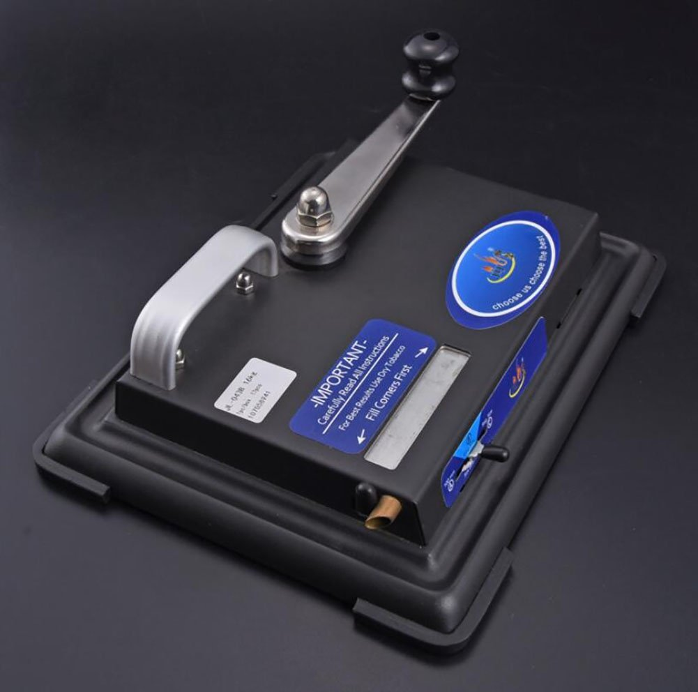 OSM&LX Manual cigarette metal automatic cigarette machine with empty tobacco pipe 251810 cm