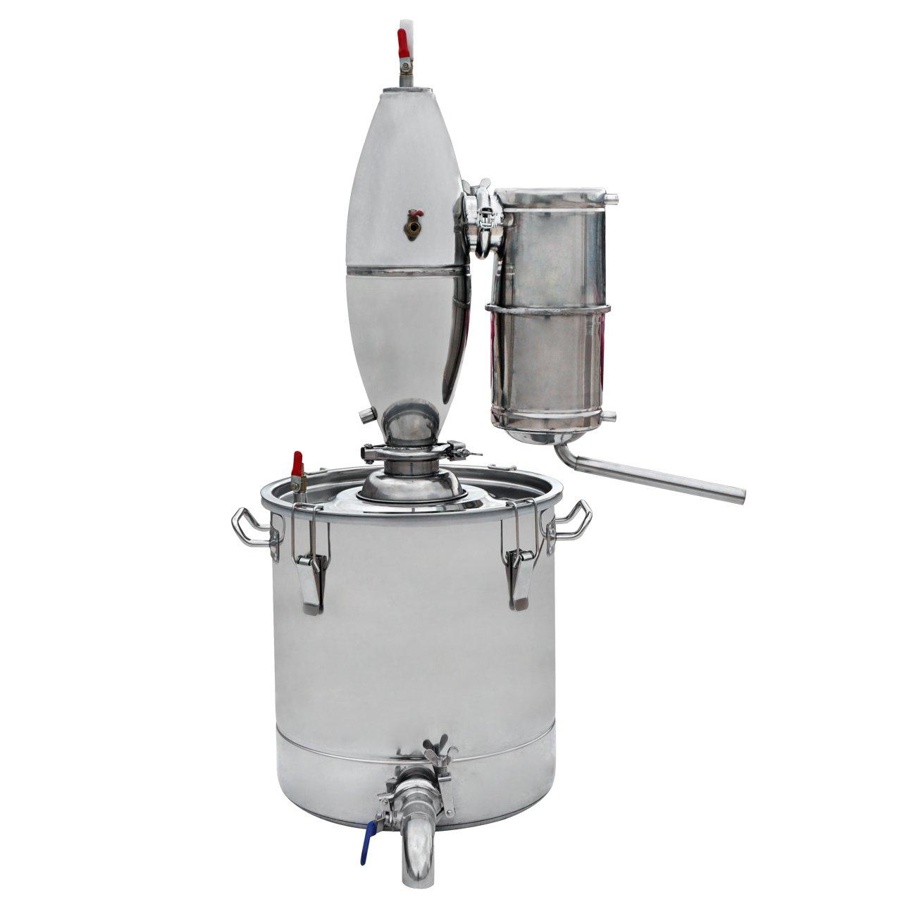 Wine Making Boiler 65L Alcohol Stainless Ferment Distiller Home Brew Kit