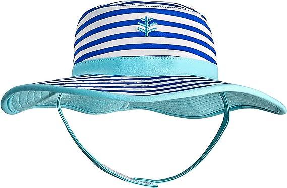 eeb06798c6dbc5 Amazon.com: Coolibar UPF 50+ Baby Girls' Reversible Beach Bucket Hat - Sun  Protective: Clothing