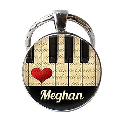 Collar o llavero con diseño de amantes de la música ...