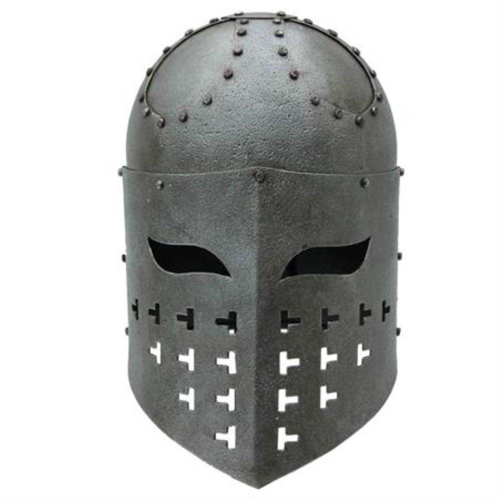 Battle Ready Fully Functional Steel Lightweight Spangenhelm Antique Finish Helmet Costume LARP