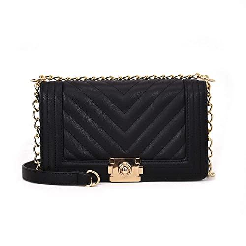 80cf0c559019 Evening bag black vintage clutch bag for women Luxury handbag Chain Hasp  evening shoulder Clutch Bags