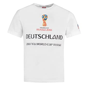 FIFA World Cup 2018 Germany Graphic T-Shirt Mens White Football Soccer Top  Shirt XLarge 37402fd3e