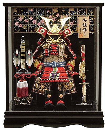五月人形 鎧ケース飾り 鎧飾り 清雲斉作 4号 h315-fz-5710-78-002 B06WLHCZ7T