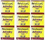 Fleischmann's Active Dry Yeast,0.25 Ounce, 9 Count