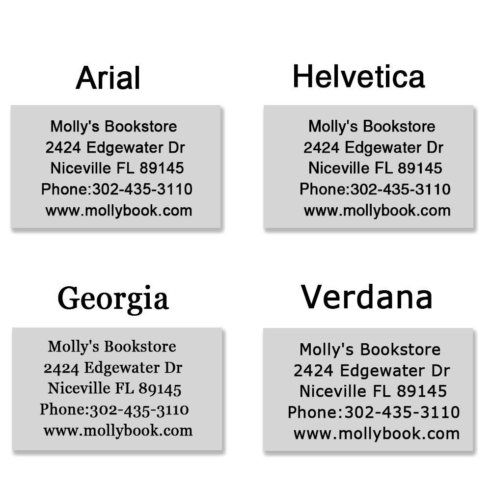 m/édecins avec 4 en option dencre Colours-Noir personnalis/ée Rouge 5 lignes de texte Tampons en caoutchouc pour les enseignants 58 x 22 mm enfants Bleu Vert infirmi/ères Tampon encreur