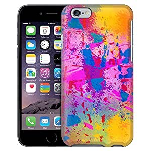 Apple iphone 4 4s case Snap On Cover by Trek Abstract Splatter Paint Case