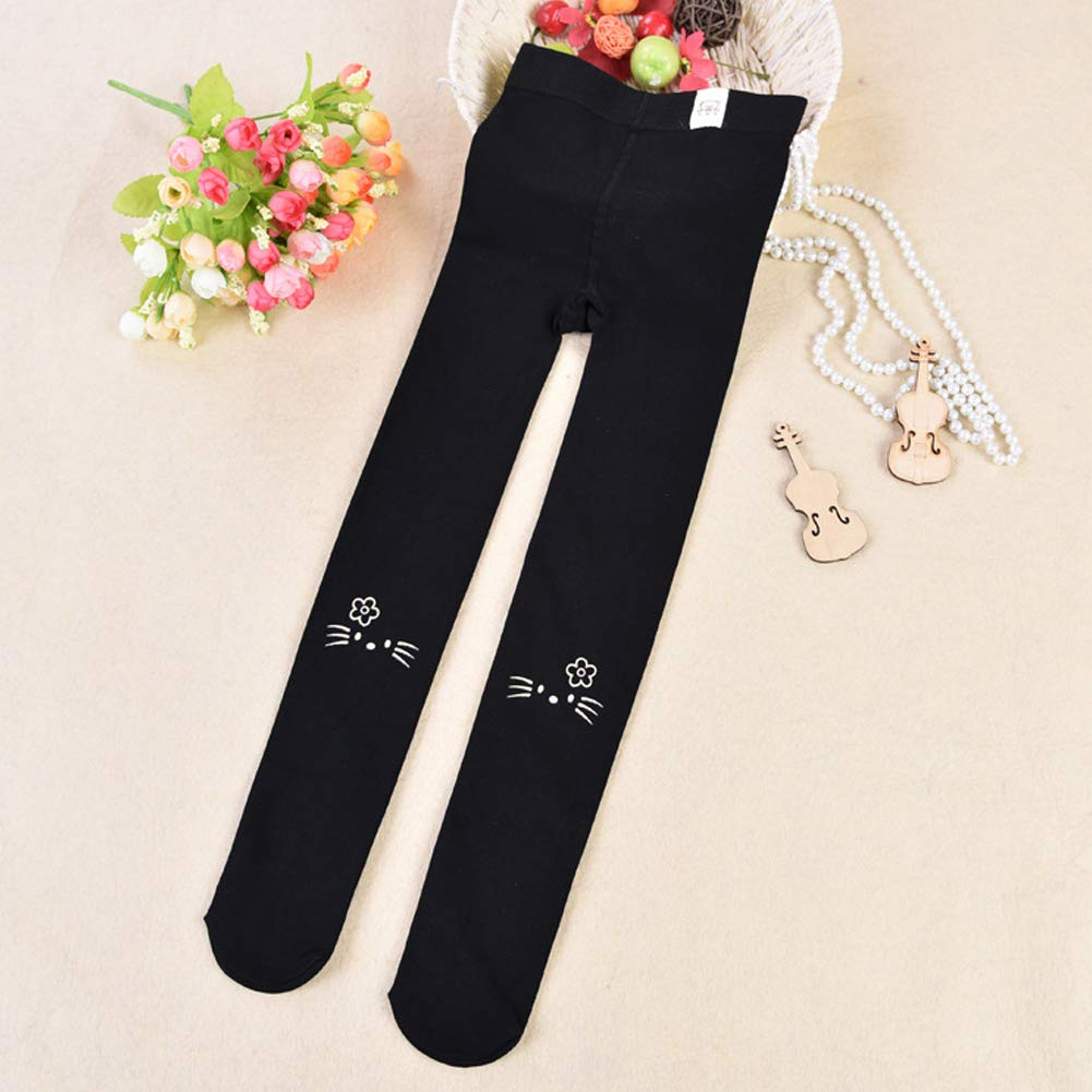 M/&A Girls Winter Warm Fleece Lined Velvet Leggings Thick Footed Tights