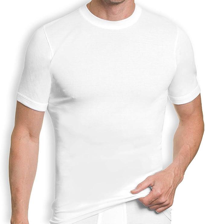Pack de 3 Camisetas Interiores de Manga Corta para Hombre, de ...