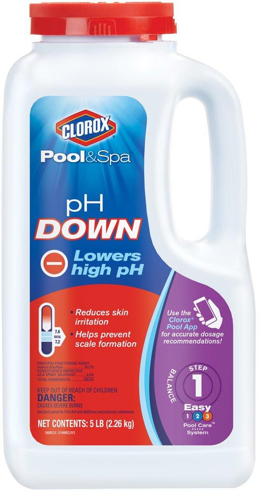CLOROX Pool&Spa pH Down, 5-Pound 10005CLX