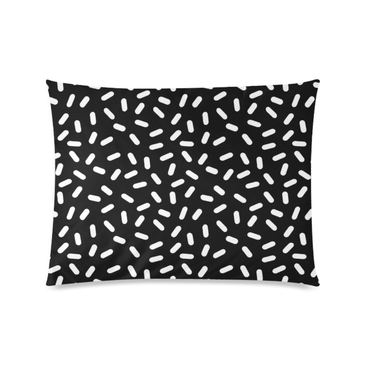 Custom Bingo Black And White Personalized Pillowcases Zippered Pillow Covers 20 by 26 Inches Two Sides by BEACASES