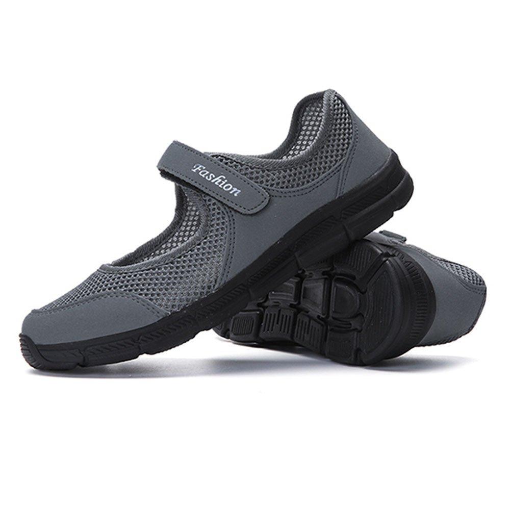 Mary Jane Flats Chaussures de Marche antidé rapantes pour Femmes Chaussures antidé rapantes Slip sur la Chaussure Mè re