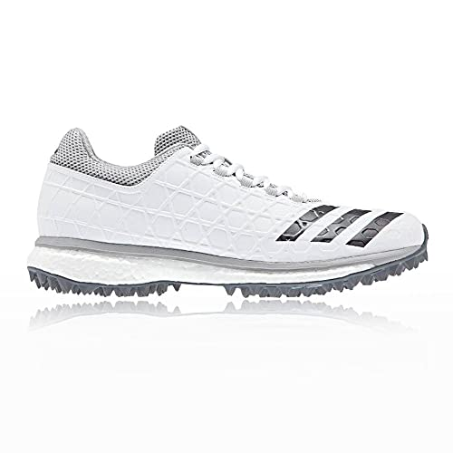 adidas adizero SL22 Boost Mens Adult Cricket Spike Shoe White Grey - UK 12.5 752ccda5d
