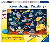 Ravensburger Space Aliens  24 Piece Jigsaw Floor Puzzle for Kids – Every Piece is Unique, Pieces Fit Together Perfectly