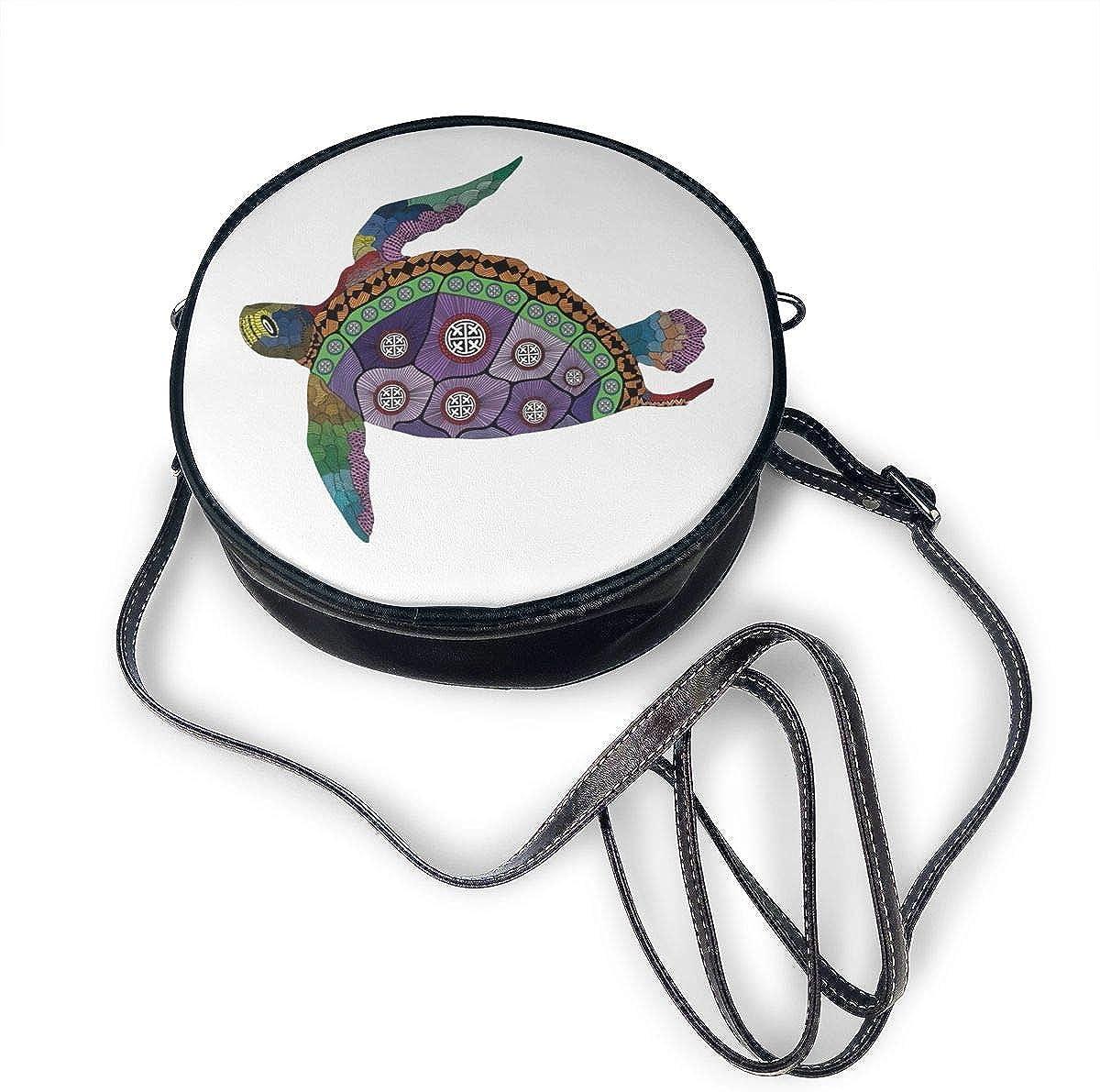 Tortuga marina con coloridos tatuajes ornamentales en animales ...